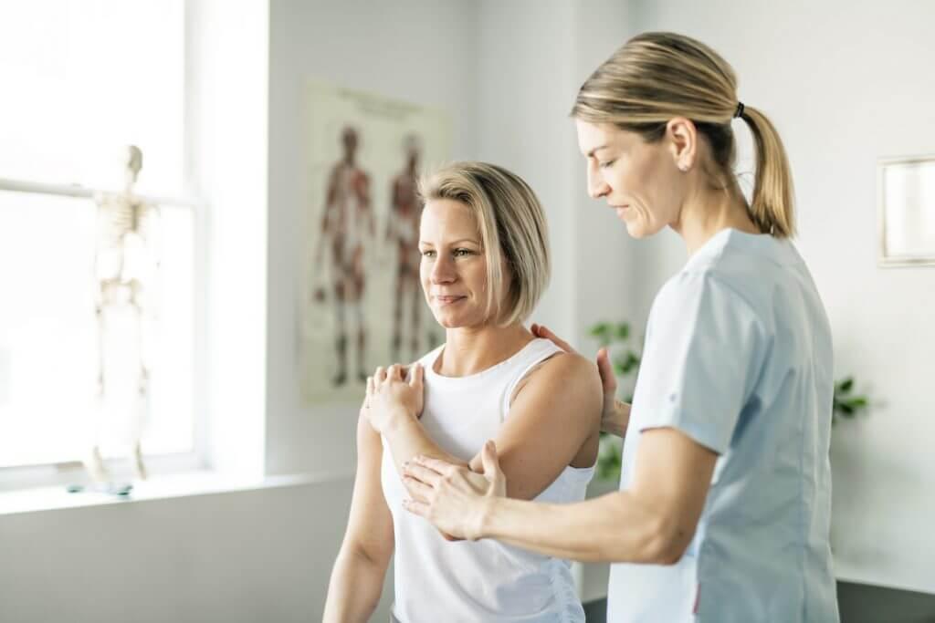 Kinésithérapie de l'épaule