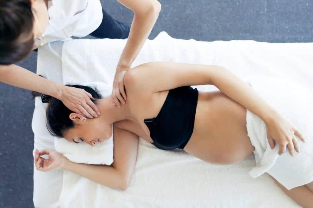 Massage cervical lors de la grossesse