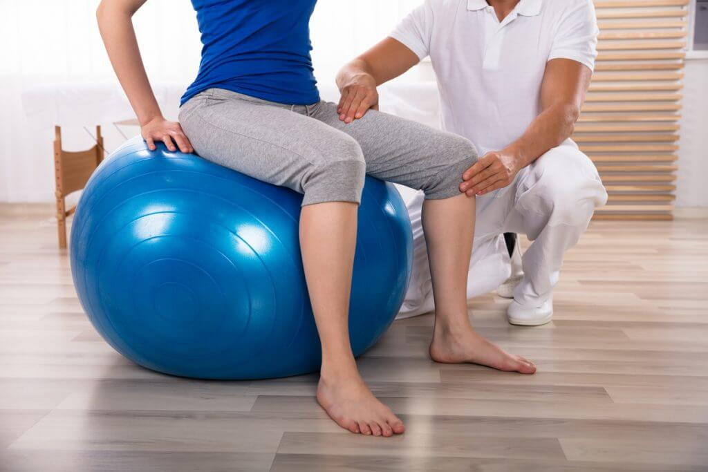 Exercice de revalidation des jambes